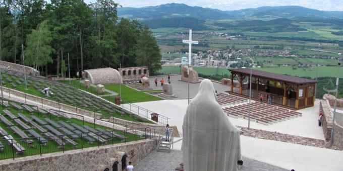 Slovenské poutní místo na vrchu Butkov